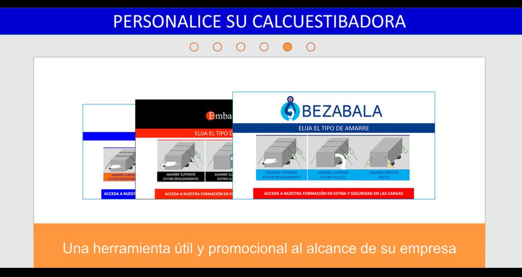 CalcuEstibadora - Personalizable para empresas